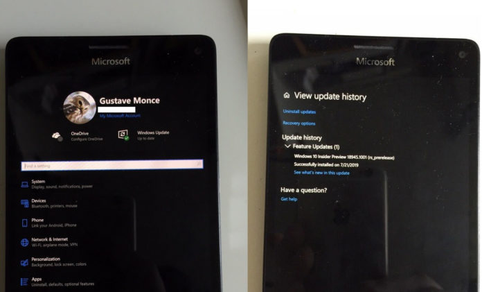 Lumia 950 XL with Windows 10