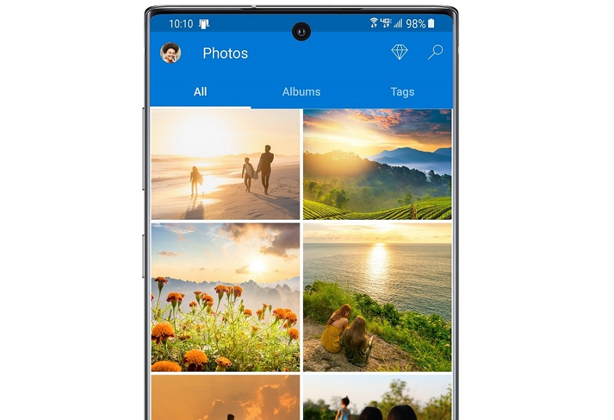 Samsung Gallery OneDrive