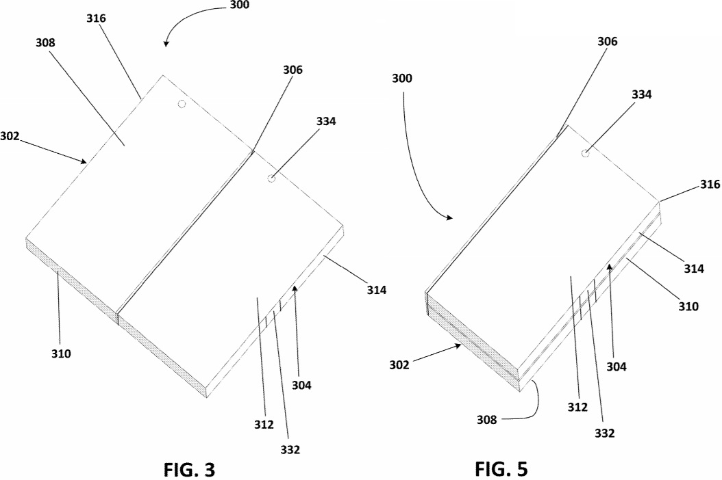 Microsoft Surface thermal patent