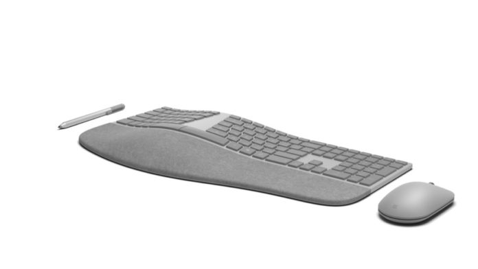Surface keyboard and mouse