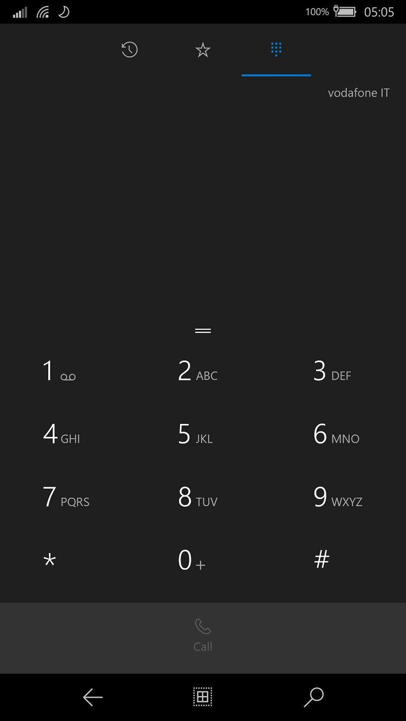 Windows 10 ARM Dialer