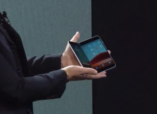 Surface Duo Android device