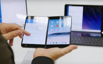 Surface Duo front