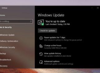 Windows 10 October patch