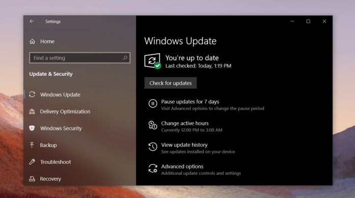 Windows 10 October patch