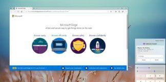 Windows 10X interface