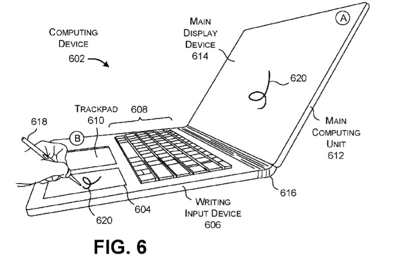 Surface Book 3 patent