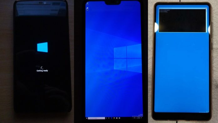 Windows 10 ARM for phones