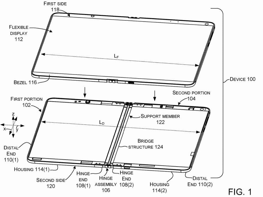 Microsoft flexible patent