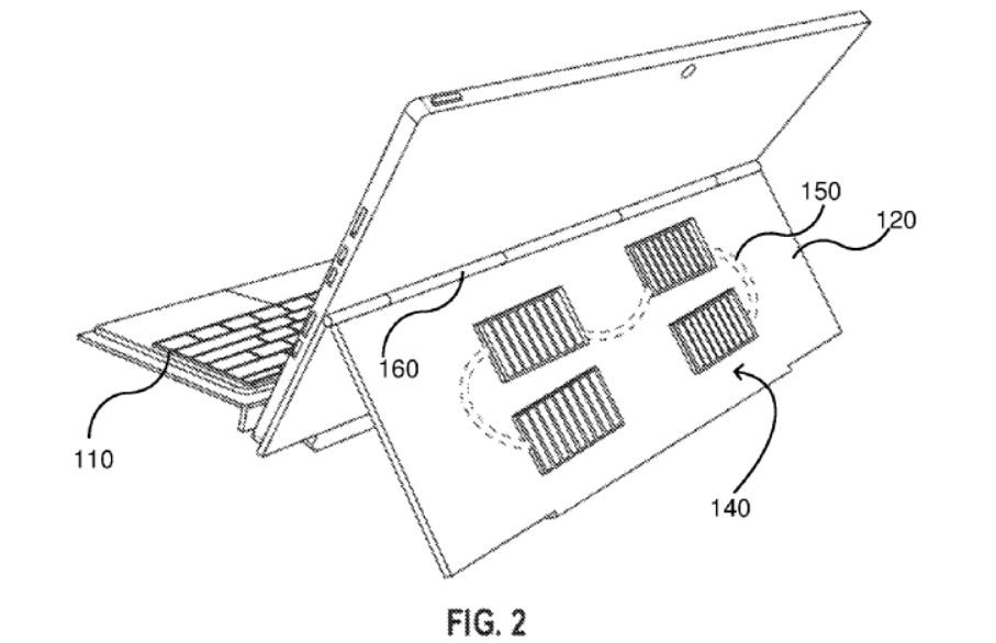 Surface Pro solar panel