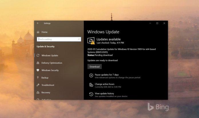 Windows 10 KB4532695