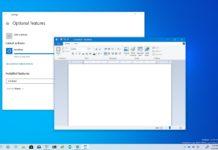 Windows 10 WordPad