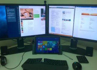 Multi monitor setup