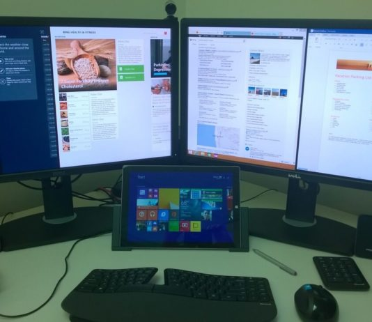 Multi monitor setup