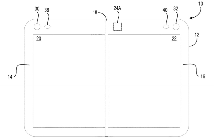 Surface Duo patent