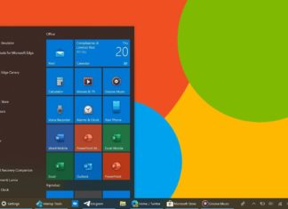 Windows 10 modern icons