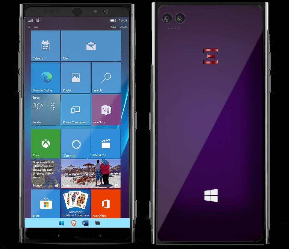 Windows 10 on ARM phone