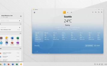 Windows Core OS concept