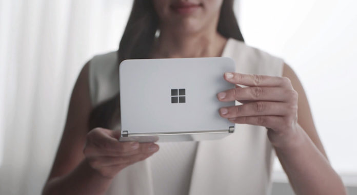 Surface Duo back