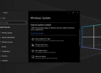 Windows 10 KB4541335