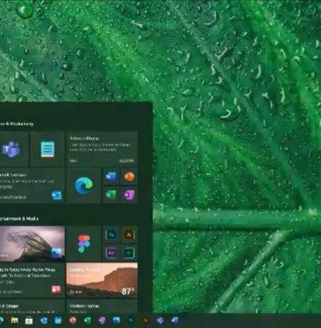 Windows 10 UI update