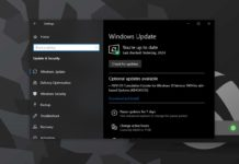 Windows 10 monthly updates