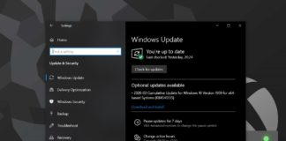 Windows 10 monthly updates