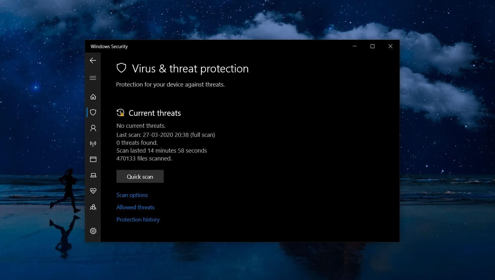 Microsoft Defender on Windows