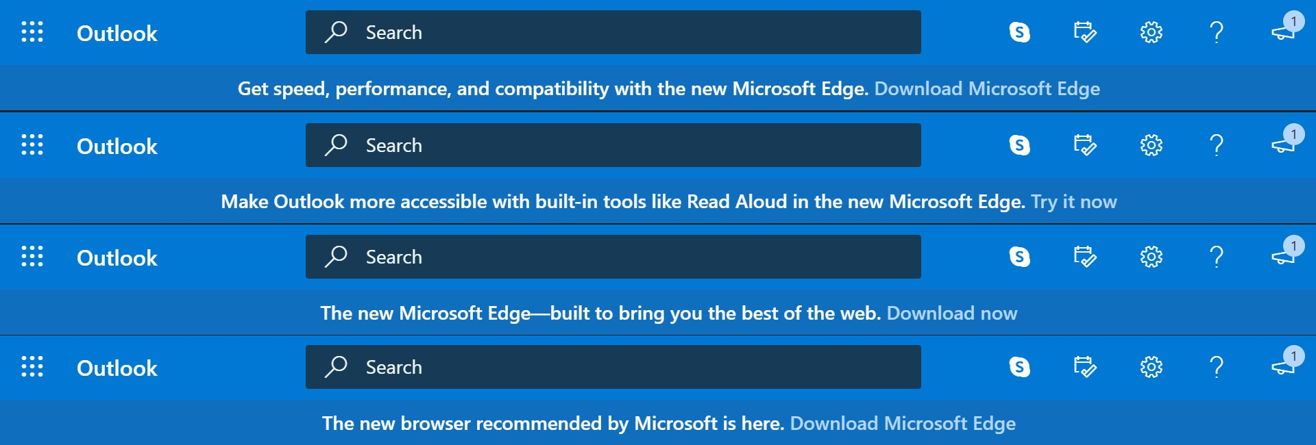 Outlook Edge ad