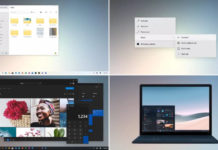 Windows 10 concept