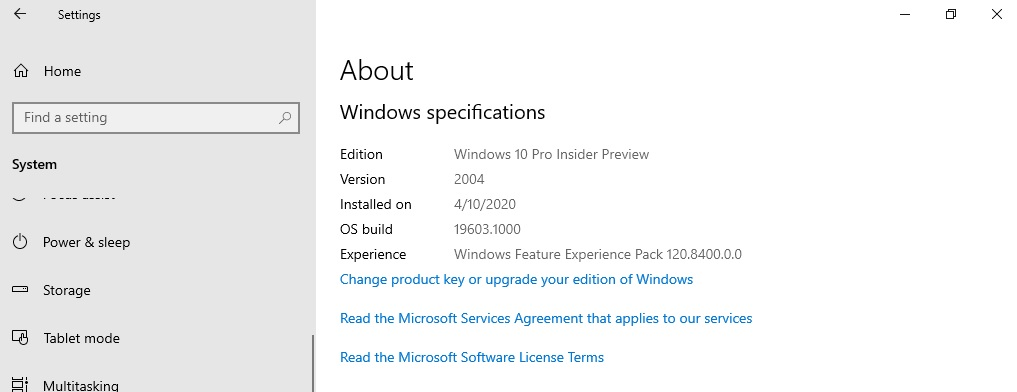 Windows Experience Pack