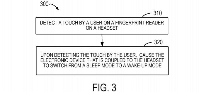 Microsoft headphones patent
