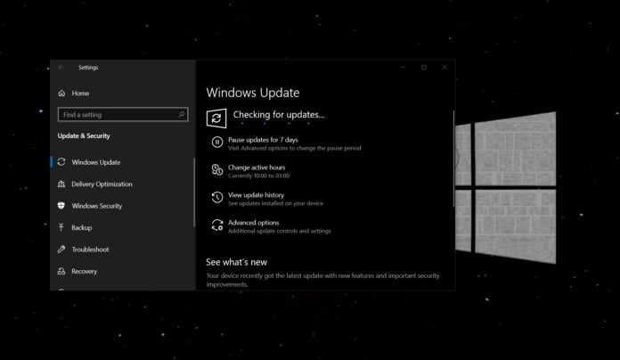 Windows 10 May 2020 Update