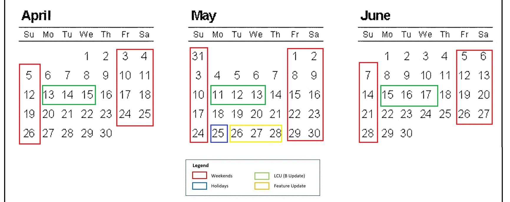 Windows 10 May 2020 Update release date