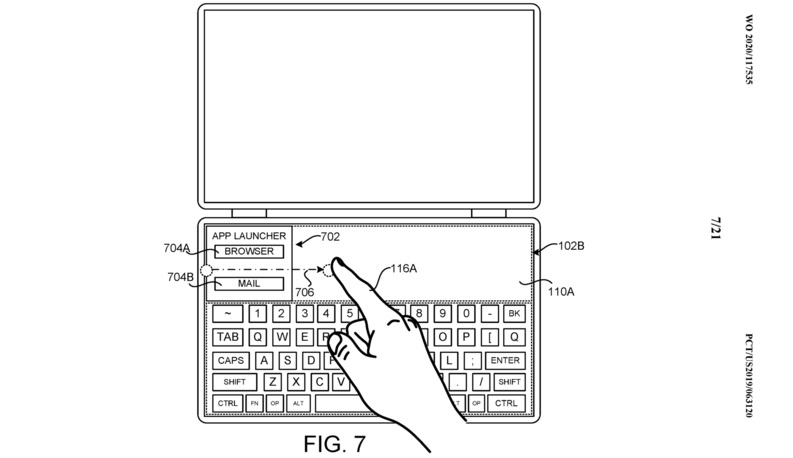 Surface Neo patent