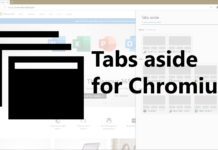 Tabs Aside extension