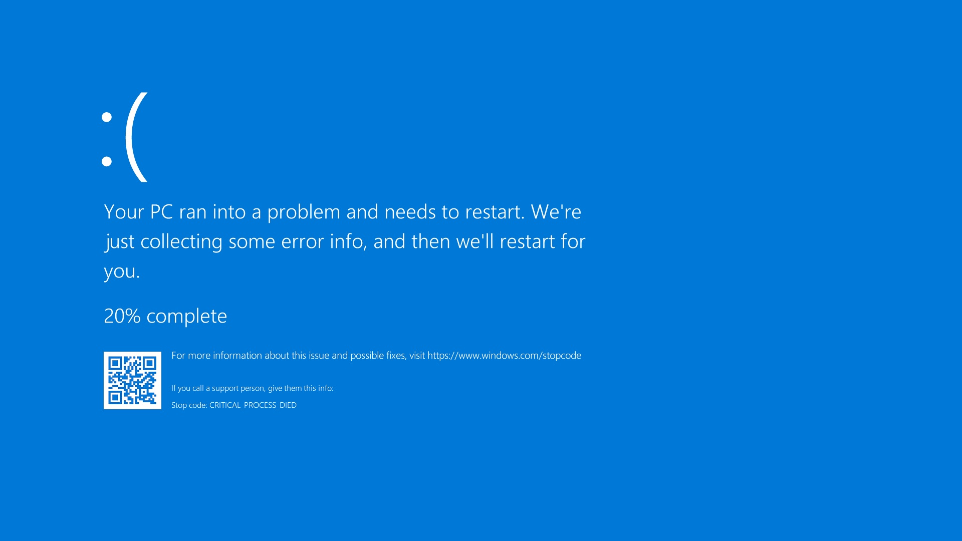 Windows 10 BSOD error