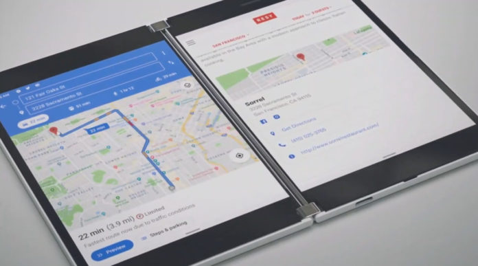 Surface Duo dual-screen phone
