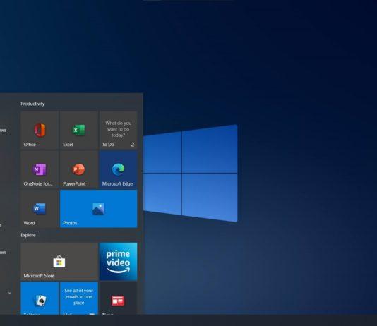 Windows 10 desktop screen