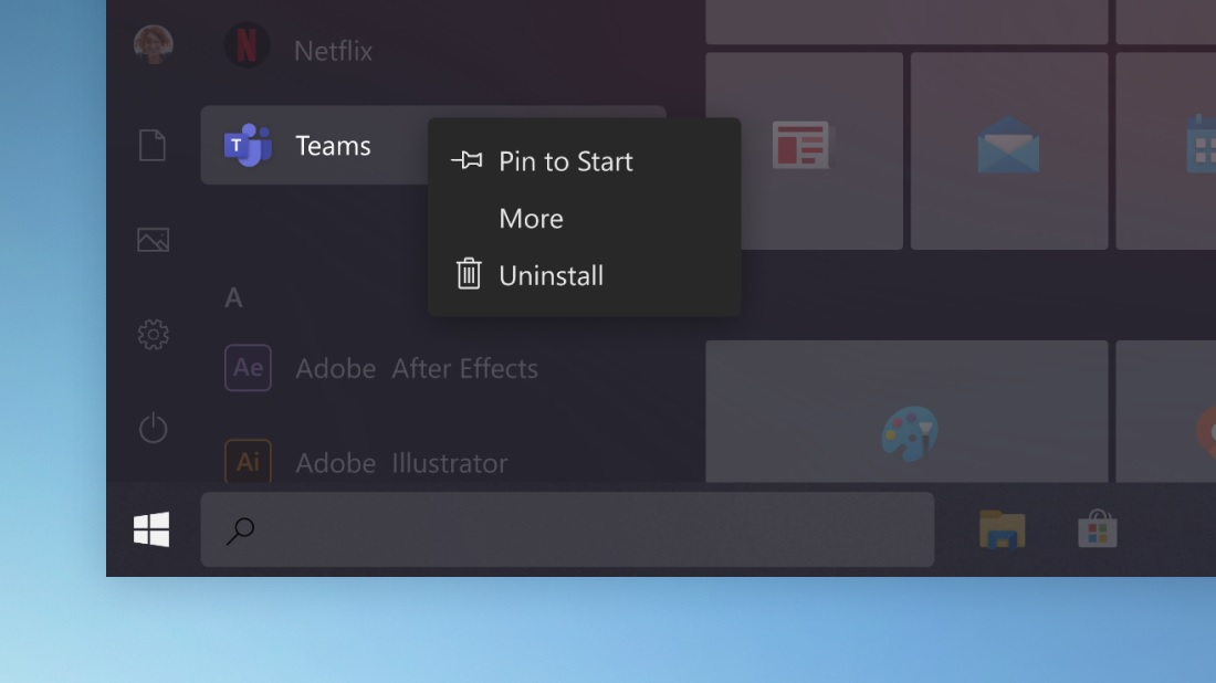 Windows 10 rounded corners