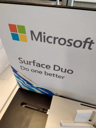 Surface Duo camera sample close