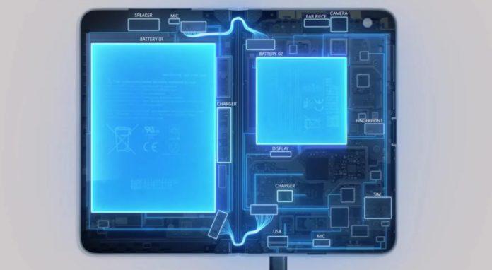 Surface Duo internal look