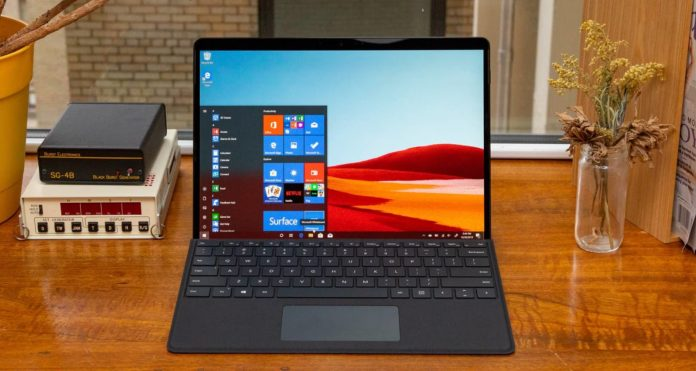 Surface Pro with Windows 10
