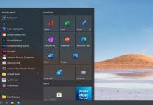 Windows 10 2004 New Start Menu