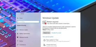 Windows 10 2004 feature update