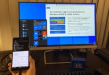 Windows 10 ARM dual screen