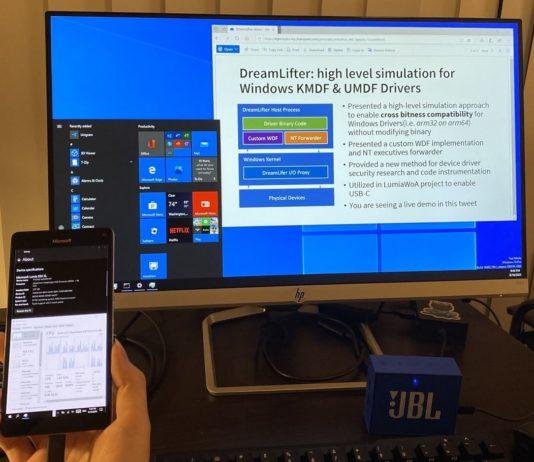 Windows 10 ARM dual screen