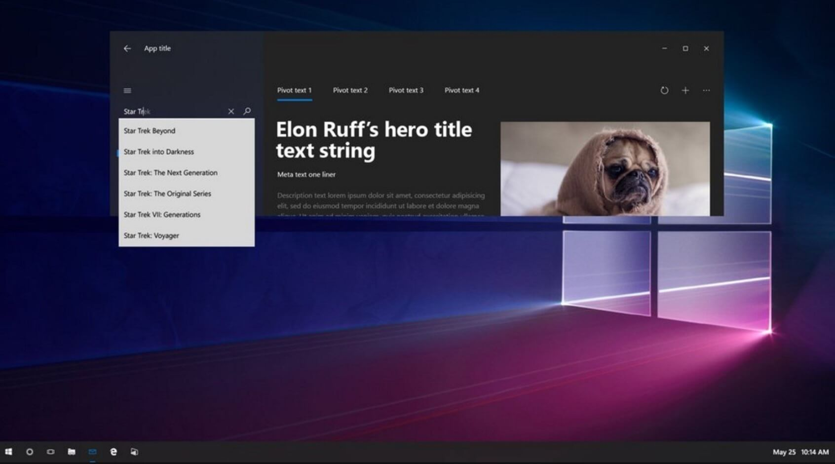 More evidence of Windows 10's new rounded look emerges - WindowsLatest