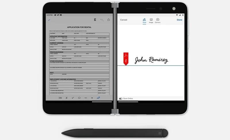 Adobe PDF app