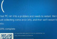 Windows 10 BSOD warning